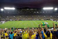 Action photo during the match Brazil vs Ecuador, Corresponding Group -B- America Cup Centenary 2016, at Rose Bowl Stadium<br /> <br /> Foto de accion durante el partido Brasil vs Ecuador, Correspondiante al Grupo -B-  de la Copa America Centenario USA 2016 en el Estadio Rose Bowl, en la foto:  Rose Bowl Stadium<br /> <br /> <br /> 04/06/2016/MEXSPORT/Victor Posadas.