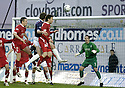 12/01/2008    Copyright Pic: James Stewart.File Name : sct_jspa12_falkirk_v_aberdeen.DARREN BARR HEADS HOME FALKIRK'S FIRST.James Stewart Photo Agency 19 Carronlea Drive, Falkirk. FK2 8DN      Vat Reg No. 607 6932 25.Office     : +44 (0)1324 570906     .Mobile   : +44 (0)7721 416997.Fax         : +44 (0)1324 570906.E-mail  :  jim@jspa.co.uk.If you require further information then contact Jim Stewart on any of the numbers above.........