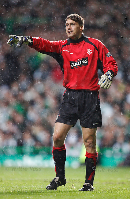 Stefan Klos, Rangers.stock season 2005-2006.pic willie vass