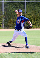 Andrew Cashner / AZL Cubs..Cubs 1st round draft choice making his professional debut in an Arizona League game against the AZL Athletics at Fitch Park, Mesa, AZ - 07/24/2008..Photo by:  Bill Mitchell/Four Seam Images