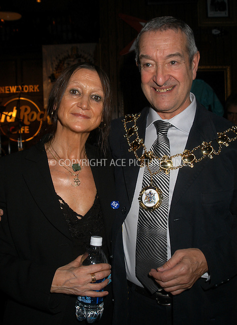 "Memphis Celebrates ""50 Years of Rock and Roll"" -- NYC Kick-Off. New York, January 21, 2004. PICTURED: Lord Mayor of Liverpool - Councillor Ron Gould and Julia Baird (John Lennon's Sister). Please byline: AJ SOKLANER/NY Photo Press.   ..*PAY-PER-USE*      ....NY Photo Press:  ..phone (646) 267-6913;   ..e-mail: info@nyphotopress.com"