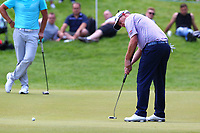 David Drysdale on the 3rd green during the BMW PGA Golf Championship at Wentworth Golf Course, Wentworth Drive, Virginia Water, England on 25 May 2017. Photo by Steve McCarthy/PRiME Media Images.