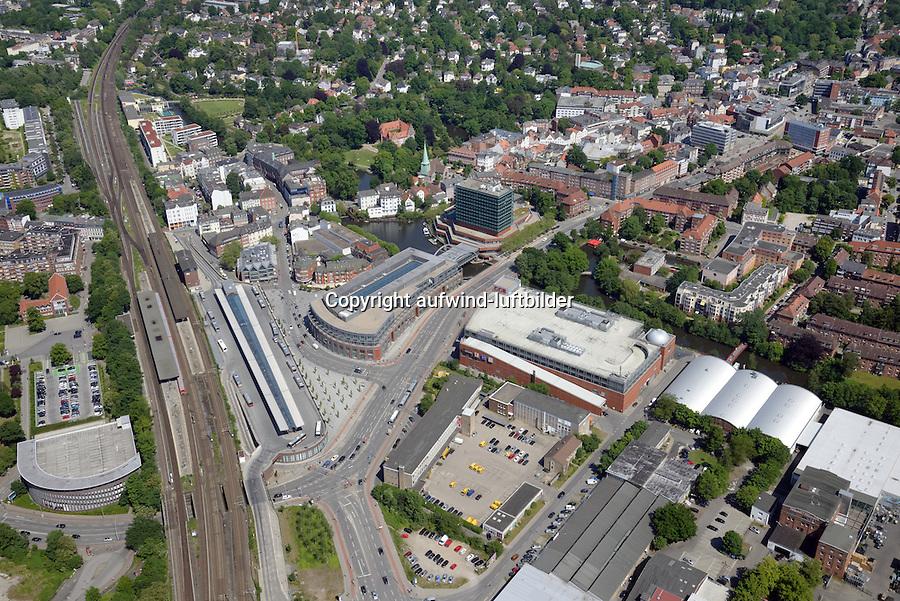 Bergedorf Zentrum : EUROPA, DEUTSCHLAND, HAMBURG, (EUROPE, GERMANY), 05.06.2015: Bergedorf Zentrum