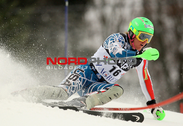 06.01.2011., Sljeme, Zagreb, Croatia - FIS Ski World Cup, Snow Queen Trophy, men slalom race, 1st run.<br /> Ted Ligety<br />                                                                                                    Foto:   nph / PIXSELL