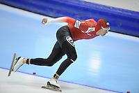 SCHAATSEN: HEERENVEEN: IJsstadion Thialf, 18-11-2012, Essent ISU World Cup, Season 2012-2013, Men 1500 meter Division B, Bram Smallenbroek (AUT), ©foto Martin de Jong