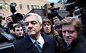 Chris Huhne and Carina Trimmingham, his partner,  leave at Southwark Crown Court today 4.2.13..He pleaded guilty and resigned today...She and her former husband MP Chris Huhne are charged with perverting the course of justice....Vasiliki Pryce, née Courmouzis, is an economist, and former Joint Head of the United Kingdom's Government Economic Service......Pic by Gavin Rodgers/Pixel 8000 Ltd