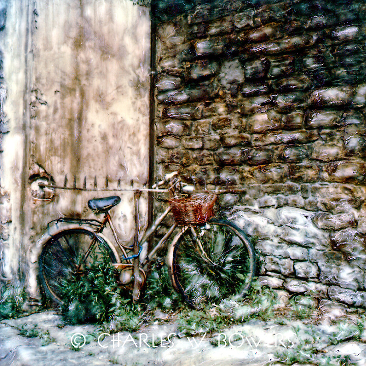 My bicycle is my only mood of transportation. I lost it but then I found it amongst the weeds a couple of blocks from home.<br />