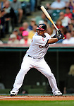4 September 2009: Cleveland Indians' second baseman Luis Valbuena in action against the Minnesota Twins at Progressive Field in Cleveland, Ohio. The Indians defeated the Twins 5-2 to take the first game of their three-game weekend series. Mandatory Credit: Ed Wolfstein Photo