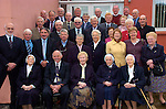 Guests and former students photograghed at Miltown Secondary School 50th anniversary celebration last week. Included is current principal Cormac Bonner.<br /> Photograph Sally MacMonagle.
