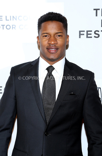 WWW.ACEPIXS.COM<br /> <br /> April 20 2014, New York City<br /> <br /> Nate Parker arriving at the premiere of 'Every Secret Thing' during the 2014 Tribeca Film Festival at BMCC Tribeca PAC on April 20, 2014 in New York City. <br /> <br /> By Line: AO Images/ACE Pictures<br /> <br /> <br /> ACE Pictures, Inc.<br /> tel: 646 769 0430<br /> Email: info@acepixs.com<br /> www.acepixs.com
