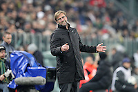24.02.2015. Turin, Italy. EUFA Champions League football. Juventus versus Borussia Dortmand. Trainer Juergen Klopp (Borussia Dortmand)