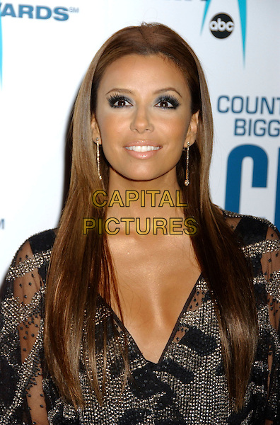 EVA LONGORIA.40th Annual CMA Awards held at Gaylord Entertainment Center, Nashville, Tennessee, USA..November 6th, 2006.Ref: ADM/LF.headshot portrait.www.capitalpictures.com.sales@capitalpictures.com.©Laura Farr/AdMedia/Capital Pictures.