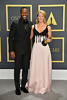 LOS ANGELES, USA. February 09, 2020: Laura Dern & Mahershala Ali at the 92nd Academy Awards at the Dolby Theatre.<br /> Picture: Paul Smith/Featureflash