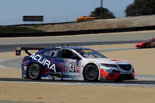 10-13 September, 2015, Monterey, California, USA<br /> #43 Ryan Eversley, Acura TLX-GT<br /> © 2015, Jay Bonvouloir, ESCP