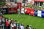 Sergio Garcia (ESP) in action during the second round of the Omega Dubai Desert Classic played at the Majilis Course, Emirates Golf Club, Dubai, UAE on 11th February 2011..Picture: Phil Inglis / www.golffile.ie.