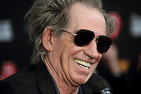 NEW YORK, NY - NOVEMBER 13: Keith Richards at 'The Rolling Stones Crossfire Hurricane' Premiere at Ziegfeld Theater on November 13, 2012 in New York City. Credit mpi01/MediaPunch Inc. /NortePhoto/nortephoto@gmail.com