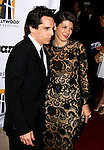 BEVERLY HILLS, CA. - October 27: Actor Ben Stiller and Actress Marisa Tomei arrive at the 12th Annual Hollywood Film Festival Awards Gala at the Beverly Hilton Hotel on October 27, 2008 in Beverly Hills, California.