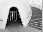 Valencia-Spain, January 08, 2018; <br /> Ciudad de las Artes y Ciencias; architecture; b&w; <br /> Photo © HorstWagner.eu