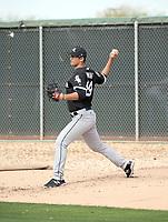 Dane Dunning - Chicago White Sox 2018 spring training (Bill Mitchell)