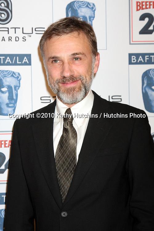 Christoph Waltz.arriving at the BAFTA/LA Awards Season Tea Party 2010.Beverly Hills Hotel.Beverly Hills, CA.January 16, 2010.©2010 Kathy Hutchins / Hutchins Photo....