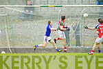 Jason Doherty Scores a Goal for Mayo in the National Football League in Austin Stack Park on Sunday..