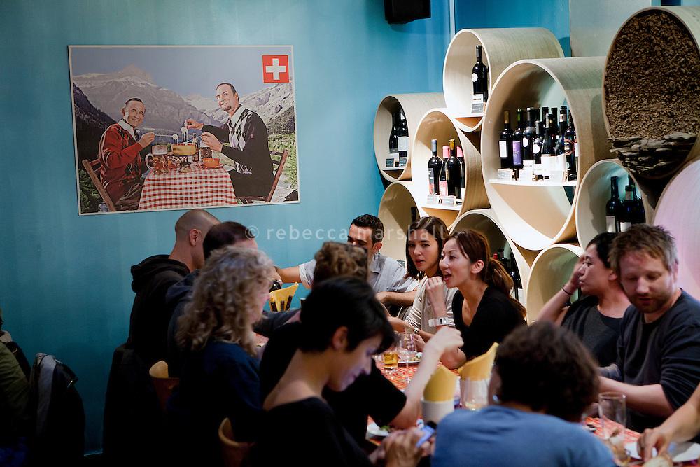 Lötschberg restaurant, Zeughausgasse, Bern, Switzerland, 27 August 2011