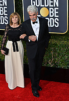 LOS ANGELES, CA. January 06, 2019: Sam Elliott & Katharine Ross at the 2019 Golden Globe Awards at the Beverly Hilton Hotel.<br /> Picture: Paul Smith/Featureflash