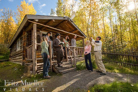 Robert Service Cabin in Dawson City, Yukon