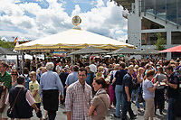 2012 GER-CHIO Aachen Weltfest des Pferdesports (Saturday) taking a look around the PACKED grounds!!!