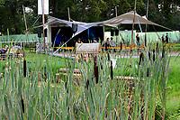 Festivalbesucher auf dem A Summer's Tale Festival 2017 in der Lüneburger Heide. Luhmühlen, 03.08.2017
