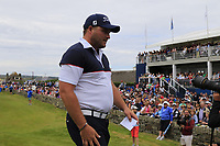 Zander Lombard (RSA) finishes on the 18th green during Sunday's Final Round of the Dubai Duty Free Irish Open 2019, held at Lahinch Golf Club, Lahinch, Ireland. 7th July 2019.<br /> Picture: Eoin Clarke | Golffile<br /> <br /> <br /> All photos usage must carry mandatory copyright credit (© Golffile | Eoin Clarke)