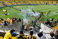 A League - Wellington Phoenix v Western Sydney Wanderers FC at Sky Stadium, Wellington, New Zealand on Saturday 11 January 2020. <br /> Photo by Masanori Udagawa. <br /> www.photowellington.photoshelter.com