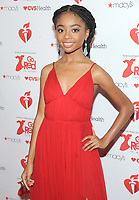NEW YORK, NY - FEBRUARY 07: Skai Jackson attends The American Heart Association's Go Red For Women Red Dress Collection 2019 Presented By Macy's at Hammerstein Ballroom on February 7, 2019 in New York City.     <br /> CAP/MPI/GN<br /> &copy;GN/MPI/Capital Pictures