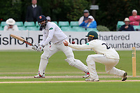 Varun Chopra in batting action for Essex during Worcestershire CCC vs Essex CCC, Specsavers County Championship Division 1 Cricket at Blackfinch New Road on 12th May 2018