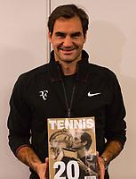 Rotterdam, Netherlands, 12 Februari, 2018, Ahoy, Tennis, ABNAMROWTT, Stan Wawrinka (SUI), Roger Federer (SUI)<br /> Photo:tennisimages.com
