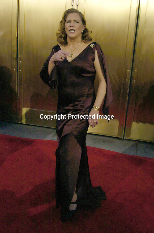 Kathleen Turner ..arriving at the 59th Annual Tony Awards on June 5, 2005 at ..Radio City Music Hall. ..Photo by Robin Platzer, Twin Images