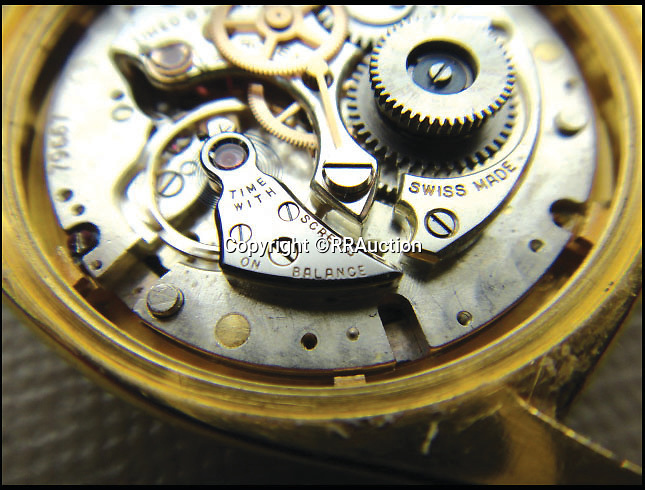 BNPS.co.uk (01202 558833)<br /> Pic: RRAuction/BNPS<br /> <br /> ***Please Use Full Byline***<br /> <br /> It was the 150,000th made by Rolex - Winston Churchill had been presented with the 100,000th while the 50,000th had gone to Swiss army general Henry Guisan.<br /> <br /> A solid gold Rolex watch given to WWII leader Dwight D. Eisenhower for helping save Europe from the Nazis is set to become the world's most expensive after it emerged for sale.<br /> <br /> The 18-carat timepiece is said to be the most valuable and historically significant ever made by the renowned Swiss watchmakers - and is now set to sell for more than a million dollars when it is auctioned for the first time ever.<br /> <br /> It was gifted to American military mastermind Eisenhower by Rolex in 1951, seven years after he successfully led the Allied forces in the D-Day landings.<br /> <br /> It is tipped to smash the world record for a Rolex watch set last year when a rare 1949 Rolex Oyster Perpetual sold for $1.2 million - around 740,000 pounds - when it goes under the hammer at RR Auction.