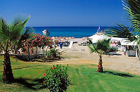 Turkey, Province Antalya, Alanya: holiday resort at Mediterranean Sea, Cleopatra beach