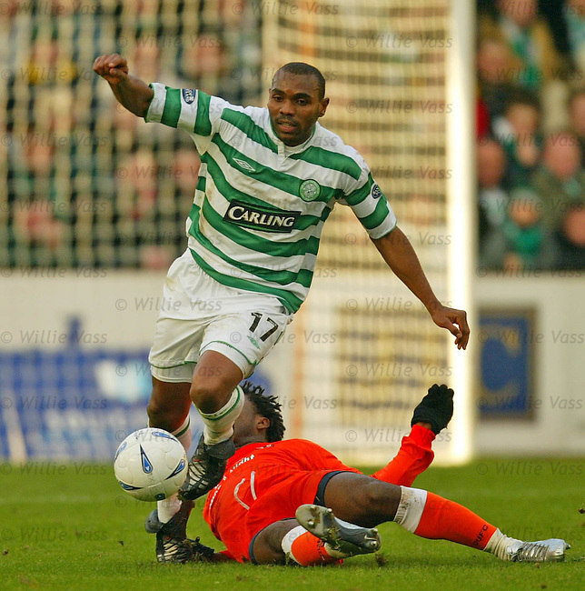 Didier Agathe, Celtic.pic willie vass