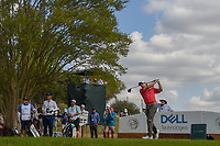 Kevin Kisner (USA) watches his tee shot on 3 during day 2 of the World Golf Championships, Dell Match Play, Austin Country Club, Austin, Texas. 3/22/2018.<br /> Picture: Golffile | Ken Murray<br /> <br /> <br /> All photo usage must carry mandatory copyright credit (&copy; Golffile | Ken Murray)