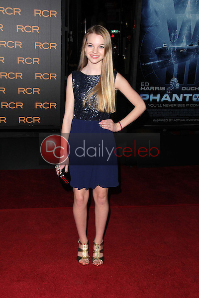 Olivia Rose Keegan<br /> at the &quot;Phantom&quot; Premiere, Chinese Theater, Hollywood, CA 02-27-13<br /> David Edwards/DailyCeleb.com 818-249-4998
