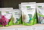 Rootgrow mycorrhizal fungi packages on sale, The Walled garden plant nursery, Benhall, Suffolk, England, UK
