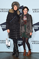 Indira Varma<br /> arriving for the Skate at Somerset House 2017 opening, London<br /> <br /> <br /> ©Ash Knotek  D3351  14/11/2017