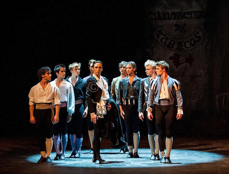 "English National Ballet. Roland Petit's ""Carmen"".."