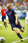 Arjen Robben (NED), JUN 13, 2014 - Football / Soccer : FIFA World Cup Brasil<br /> match between Spain and Netherlands at the Arena Fonte Nova in Salvador de Bahia, Brasil. (Photo by AFLO) [3604]