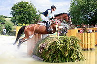 AUS-Christopher Burton rides Nobilis 18 during the DHL-Preis CICO3* Teilprüfung Cross Country. Final-6th. 2017 GER-CHIO Aachen Weltfest des Pferdesports. Saturday 22 July. Copyright Photo: Libby Law Photography