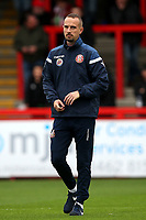 Stevenage manager Mark Sampson during Stevenage vs Grimsby Town, Sky Bet EFL League 2 Football at the Lamex Stadium on 12th October 2019