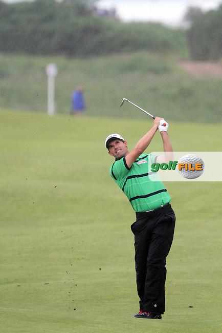 Padraig Harrington (IRL) on the 4th on Day 2 of the 2012 Irish Open at Royal Portrush Golf Club, Portrush, Co.Antrim, 29/6/12...(Photo Jenny Matthews/www.golffile.ie)