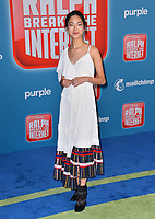 LOS ANGELES, CA. November 05, 2018: Madison Hu at the world premiere of &quot;Ralph Breaks The Internet&quot; at the El Capitan Theatre.<br /> Picture: Paul Smith/Featureflash