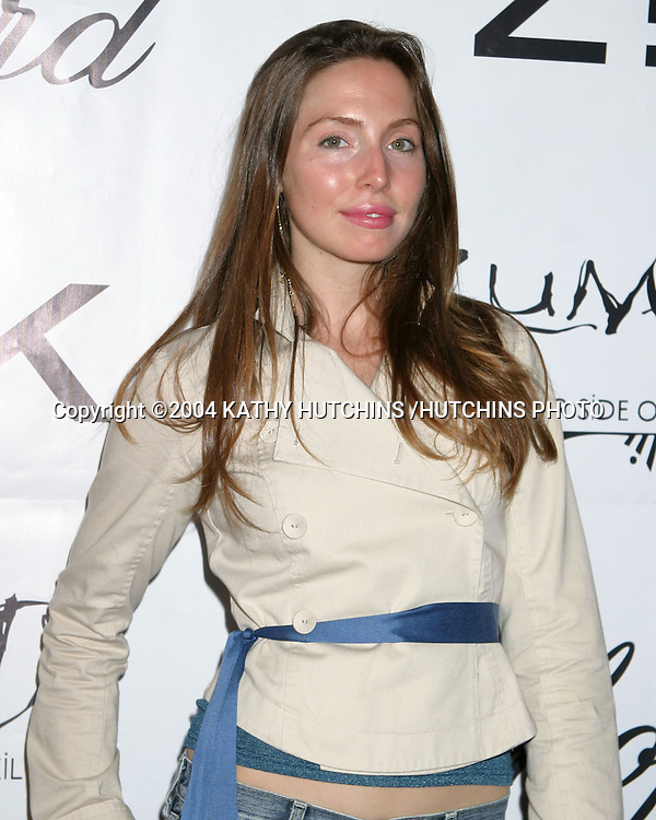 ©2004 KATHY HUTCHINS /HUTCHINS PHOTO.ZINK MAGAZINE PARTY.BLISS.LOS ANGELES, CA.OCTOBER 29, 2004..WHITNEY CUMMINGS